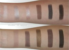 @maybelline the Rock Nudes Palette Swatches