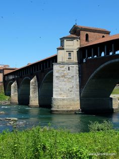 Le pont couvert de Pavie : Ponte Coperto di Pavia - Italy Pavia's Covered bridge #WonderfulExpo2015 #WonderfulLombardy