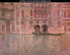 Venice, Palazzo da Mula - Claude Oscar Monet - www.claudemonetgallery.org