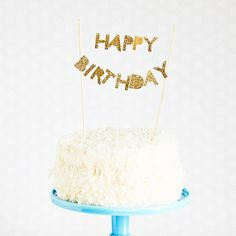 Happy Birthday Cake Topper – Shop Sweet Lulu