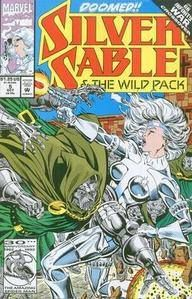 Silver Sable and the Wild Pack No 5 / 1992  £0.99