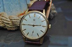 Vintage Omega Seamaster 30 gold plated by DISTINCTIVEPURVEYOR