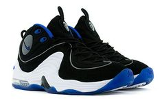 Nike Air Penny II - Black - Varsity Royal - White - SneakerNews.com 8a7876d46