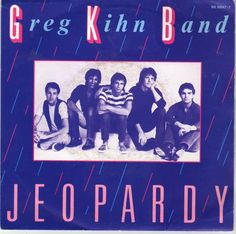 The Greg Kihn Band 45 RPM Cover https://www.facebook.com/FromTheWaybackMachine