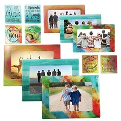 Friendship Magnetic Picture Frames and Magnets with Inspirational Sentiments by Sheen For Standard Sizes 5x7 4x6 3x5 35x5 25x3 Wallet  Gifts for Friends  Friendship Gifts 12 Friend ** You can find more details by visiting the image link. #FriendshipGift Friend Friendship, Friendship Gifts, Magnetic Picture Frames, Friend Gifts, Gifts For Friends, Best Christmas Presents, Refrigerator Magnets, Presents For Friends, Best Christmas Gifts