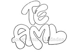 Lettering Tutorial, Foam Crafts, Preschool Crafts, Free Cliparts, Cupcake Cross Stitch, Fantasy Art Men, Graffiti Lettering, Wallpaper Pc, Love Messages