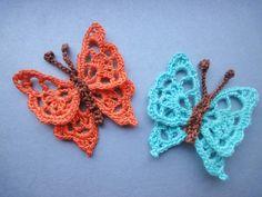 БАБОЧКА BUTTERFLY Crochet https://www.youtube.com/watch?v=1VNxNOCHXew