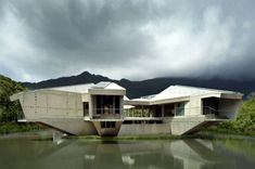 Stamp House, Charles Wright Architects, cyclone proof house, disaster proof house, solar powered house, far north queensland