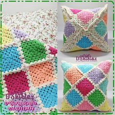 Cushion covers #crochet #kait #mengait #handmade #kraftangan #crafts #colourfull #colourful sms/whatapps / wechat 01123113454 utk order dan detail - http://www.diysupplies.org/craftagram-2/cushion-covers-crochet-kait-mengait-handmade-kraftangan-crafts-colourfull-colourful-smswhatapps-wechat-01123113454-utk-order-dan-detail/
