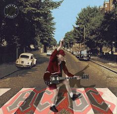 AC/DC - Angus Young - fans -Abbey Road