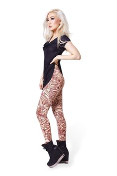 My Holiday in Bali Leggings › Black Milk Clothing