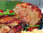 Dad's meatloaf with tomato relish..Tyler Florence.  Meatloaf for adults :)