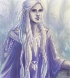 Саурон - Аннатар среди эльфов Эрегиона   Annatar