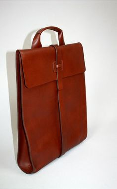 Bonastre leather long bag   The Unconventional     I'm not sure why, but I really love this.