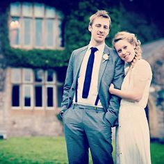 Happy Valentine's Insta! I'm jumping on the #weddingwednesday throw-back bandwagon! Mainly because it means I can post a photo that isn't of my pooch infested house! This is me and Mr Woollysaurus all of (just over) 5 years ago on our wedding day in Llandegla 👰🏼🤵🏼 . . . . #wedding #Valentines #winterwedding #jennypackham #secondhandweddingdress