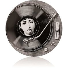 Fornasetti Theme & Variations Plate No.370 ($185) ❤ liked on Polyvore featuring home, home decor, no color, black white home decor, fornasetti plates, black and white plates, round plate and fornasetti