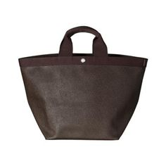Tote bag square base with basic shape Size L - Hervé Chapelier
