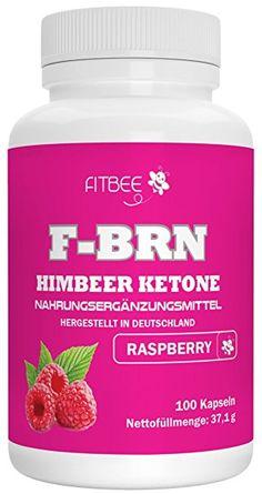 29,95 € - Fettburner Fitbee - F-BRN Himbeer Ketone | Diät-Kapseln | Hochwertige Qualität aus Deutschland