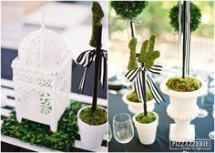 My Black and White Striped Wedding! White Bridal Shower, Bridal Shower Signs, Bridal Shower Games, Bridal Shower Decorations, Wedding Decorations, White Shower, Wedding Ideas, Black And White Centerpieces, Unique Centerpieces