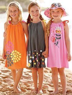 Agulha de ouro Ateliê: Dois modelos de vestidos infantil fáceis de fazer