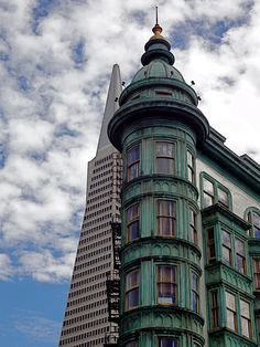 francis ford coppola's place & the transamerica building, san francisco.
