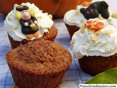 Muffins au potiron Coups, Muffins, Breakfast, Food, Greedy People, Recipes, Morning Coffee, Muffin, Essen