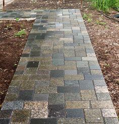 Recycled Granite Walkway, Fire Pit Caps | INNOVA Stone CO. Recycled Granite  Worx | Pinterest
