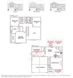 Boxwood 2076 ::: Floor Plan
