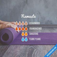Namaste — Essential Oil Diffuser Blend