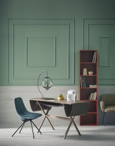Green is a perennially popular paint color. From emerald green to mint, see 14 phenomenal spaces done in nature's favorite color.