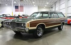1971 Ford LTD Country Squire. 1970s Station wagons don't get any better than this.