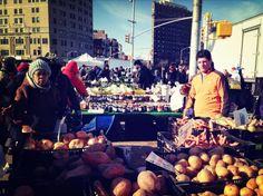 Farmersmarket in Brooklyn. Hier wurde alles lokal produziert. Foto: Philippe Intraligi