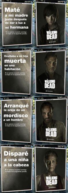 Acción de The Walking Dead