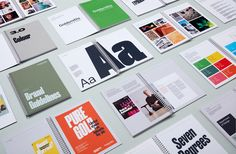Logotype, brand guidelines and print for Goldsmiths, University of London by UK based graphic design studio Spy. Identity Design, Brochure Design, Visual Identity, Brand Identity, Logo Branding, Graphic Design Studios, Graphic Design Posters, Graphic Design Inspiration, Poster Designs