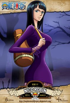 One Piece - Nico Robin by OnePieceWorldProject on deviantART