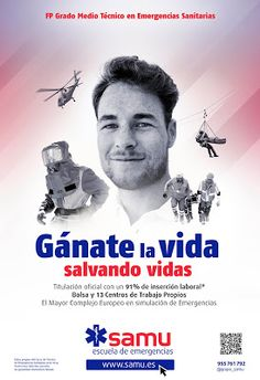 Tiovivo Publicidad Sevilla: Nueva Campaña Ciclos FP Sanitaria Escuela SAMU