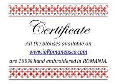 IA the Romanian Blouse. Here you can buy Romanian peasant blouses ie and folk costumes traditional clothes. Worldwide shipping for embroidered Romanian blouse Peasant Blouse, Blouse Dress, Blouse Online, Embroidered Blouse, Summer Flowers, Traditional Outfits, Clothes For Sale, Magnolia, Embroidery
