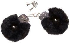 Handschellen mit Plüschbezug