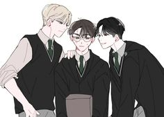 Harry Potter Toms, Harry Potter Feels, Harry Potter Houses, Harry Potter Anime, Harry Potter Fan Art, Drarry, Barty Crouch Jr, Harry Potter Draco Malfoy, My Hero Academia Episodes