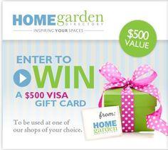 Une carte-cadeau VISA de 500$ à remporter! • Quebec echantillons gratuits