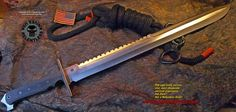 Relentless Knives Custom 36 inch Sword 3V Hand Forged Zone Tempered steel