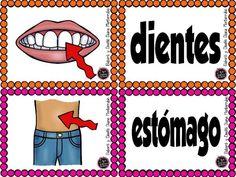 Actividades para trabajar el cuerpo humano en E. Infantil y E Primaria - Imagenes Educativas Spanish Immersion, Ronald Mcdonald, Diana, School, Mickey Mouse, Human Body, Human Body Parts, Body Images, Human Body Activities