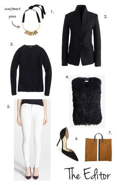 Elements of Style Blog | Fashion Friday: White Jeans in Winter | http://www.elementsofstyleblog.com