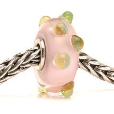 Authentic Glass/Silver Trollbead Julian, Retired