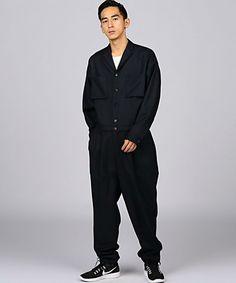 ENR ウールサージオールインワン(つなぎ/オールインワン) EN ROUTE(アンルート)のファッション通販 - ZOZOTOWN