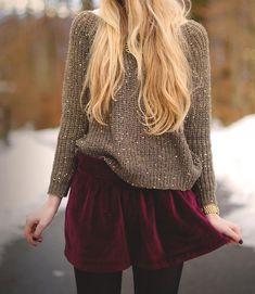 sparkly + velvet