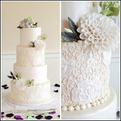 Icing Wedding Cakes Techniques