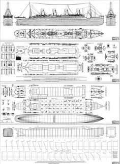 RMS Titanic Deck Plans