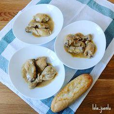Pollo en salsa de almendras de mamá | Cocina