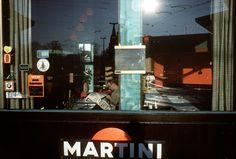 Harry Gruyaert - Brussels. 1981. Place Flagey.